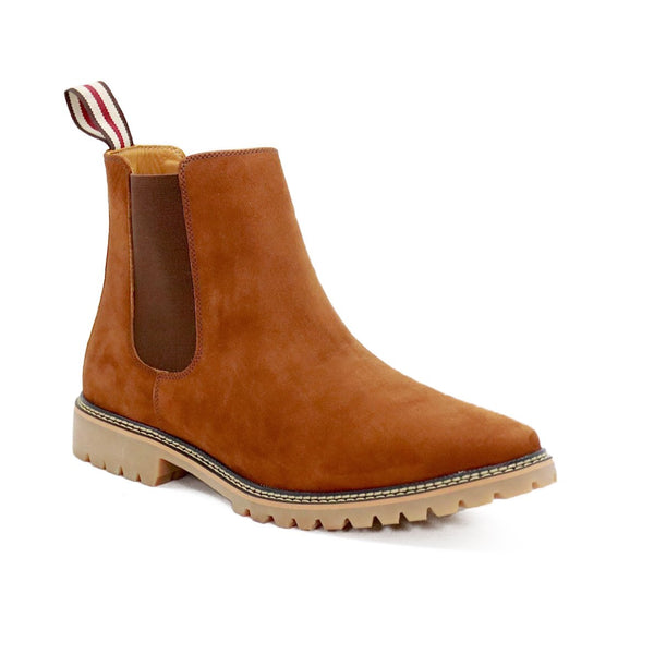 DE WULF Footwear, chelsea boots men rust genuine leather men shoes size 13, men boots, men shoes leather shoes men, best leather shoes men