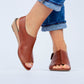 Women's (Ani) Chestnut Brown Sandals by Bernard DE WULF®