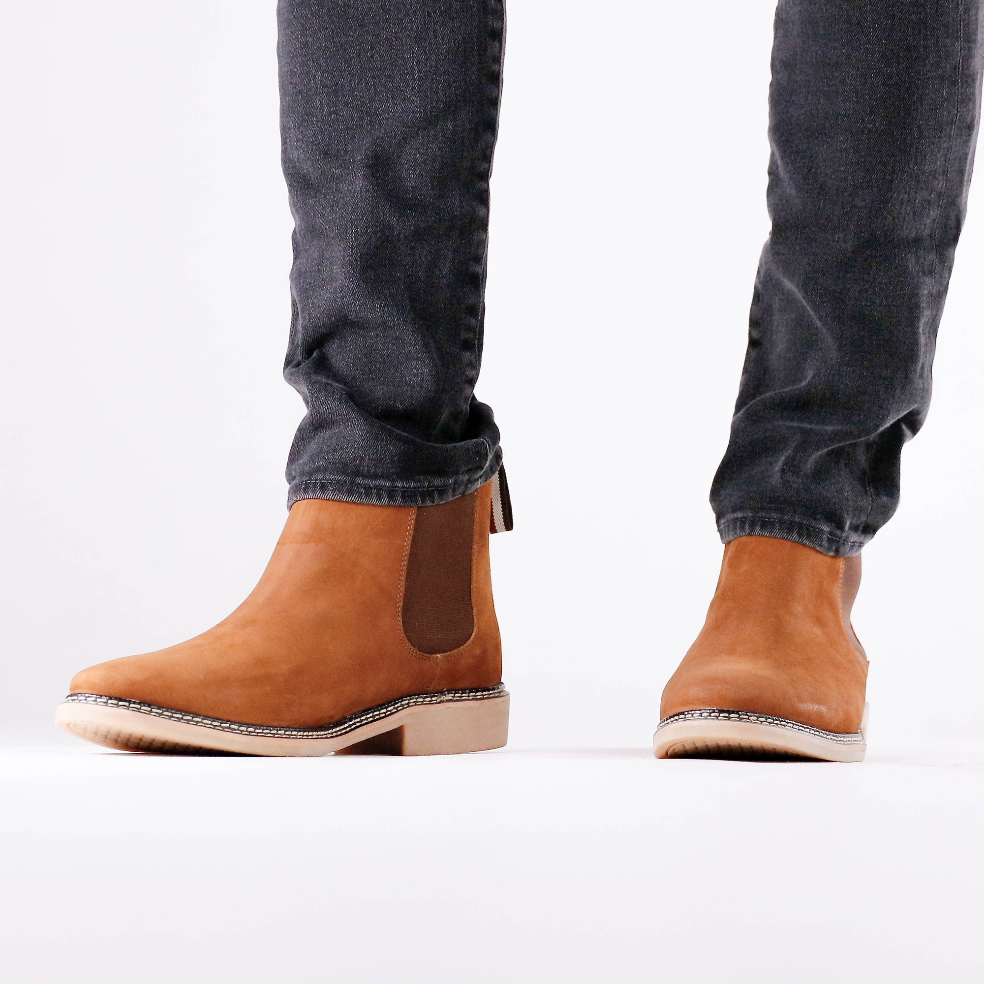 DW Chelsea Boots Men_Rust 2_boots men, leather chelsea boots men, leather boots, boots men, brown chelsea boots, de wulf men shoes, de wulf men boots
