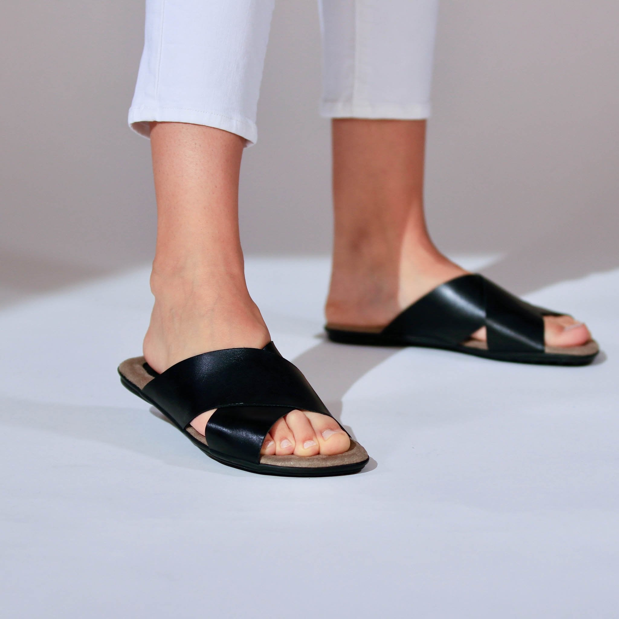 Comfortable Women Leather Sandals