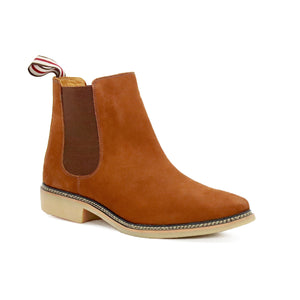 DE WULF Footwear, rust Chelsea boots men, rust shoes men, casual shoes men, best shoes for men, best Chelsea boots for men, Chelsea boots with jeans