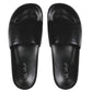 Men's Black Sandal Slides by Bernard DE WULF®