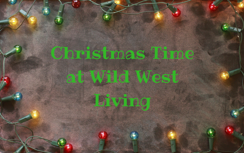Christmas Time at Wild West Living