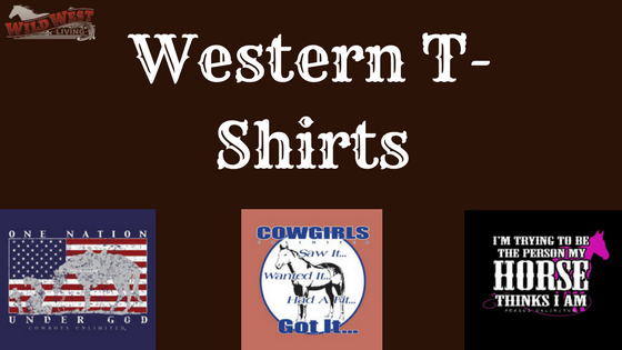 Western T-Shirts from Wild West Living