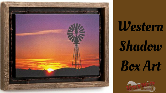 Western Shadow Box Art