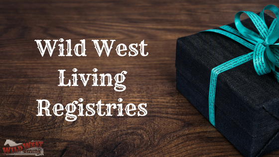 Wild West Living Registries