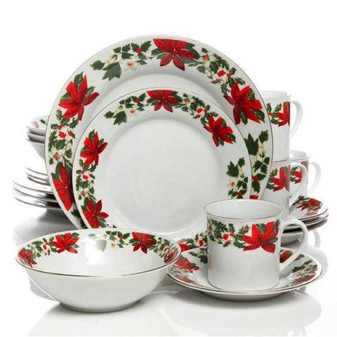 Wild West Living Western Christmas Dinnerware Set
