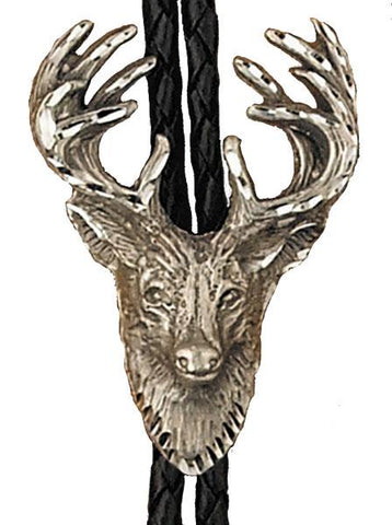 Wild West Living Stag Bolo Tie