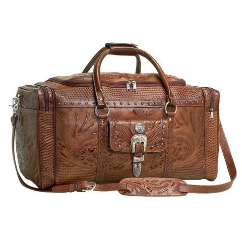 "Wild West Living ""Retro Romance"" Western Leather Rodeo Bag"