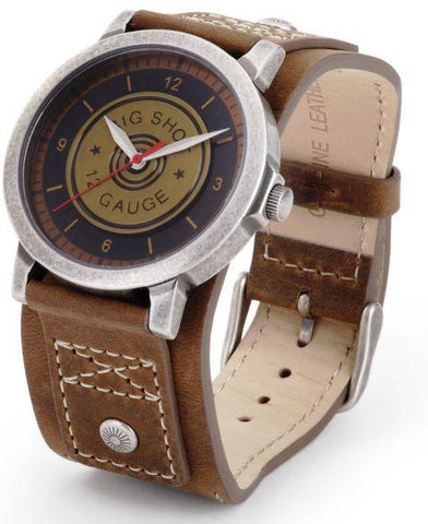Wild West Living Big Shot 12-Gauge Wrist Watch