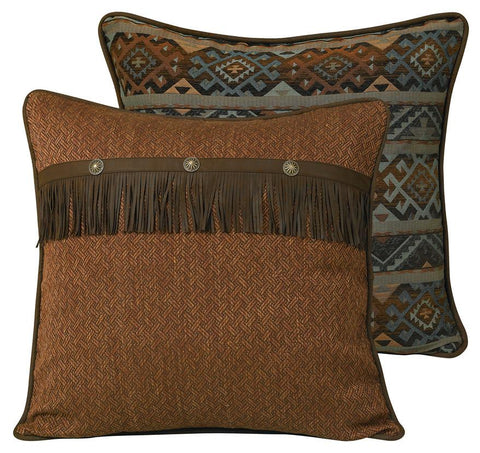 Wild West Living Del Rio Western Reversible Euro Sham