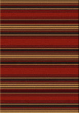 "Load image into Gallery viewer, ""Santa Fe Stripe""  Area Rugs - Choose from 6 Sizes!"