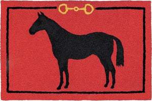 """Hunter Jumper"" Western Accent Rug"