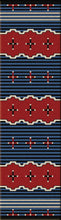 "Load image into Gallery viewer, ""Big Chief Blue"" Southwestern Area Rugs - Choose from 6 Sizes!"