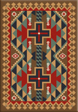 "Load image into Gallery viewer, ""Tribesman - Kilim"" Southwestern Area Rugs - Choose from 6 Sizes!"