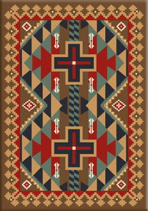 """Tribesman - Kilim"" Southwestern Area Rugs - Choose from 6 Sizes!"
