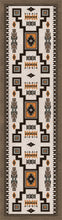 "Load image into Gallery viewer, ""Old Crow Worn Saddle"" Southwestern Area Rugs - Choose from 6 Sizes!"
