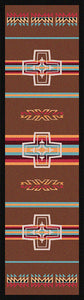 """Canyon Cross - Sunset"" Western Area Rugs - Choose from 6 Sizes!"