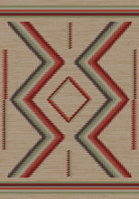 "Load image into Gallery viewer, ""Hourglass - Fall"" Southwestern Area Rugs - Choose from 6 Sizes!"