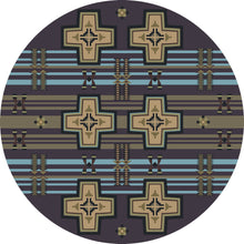 "Load image into Gallery viewer, ""Grand River Night Sky"" Southwestern Area Rugs - Choose from 6 Sizes!"