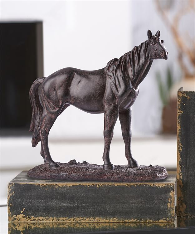 Standing Horse Table Sculpture