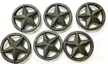 Load image into Gallery viewer, Cast Iron Star Drawer Pull