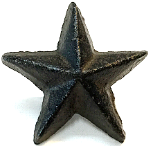 Cast Iron Star Drawer Pull