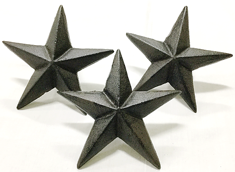 Cast Iron Large Nail Star