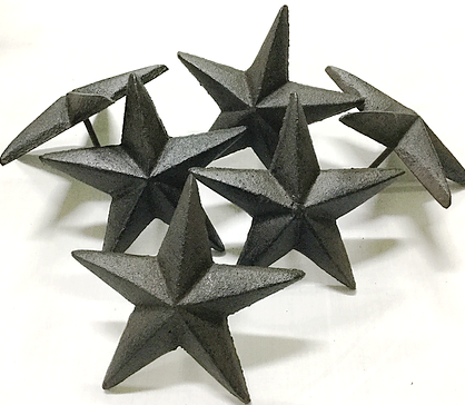 Cast Iron Medium Nail Star