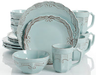 """Havenwood"" 16-Piece Farmhouse Dinnerware Set"