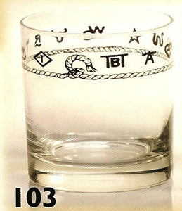 14 OZ Double Old Fashioned Glasses - 4 Piece Set