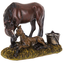 Load image into Gallery viewer, Mare & Colt Figurine
