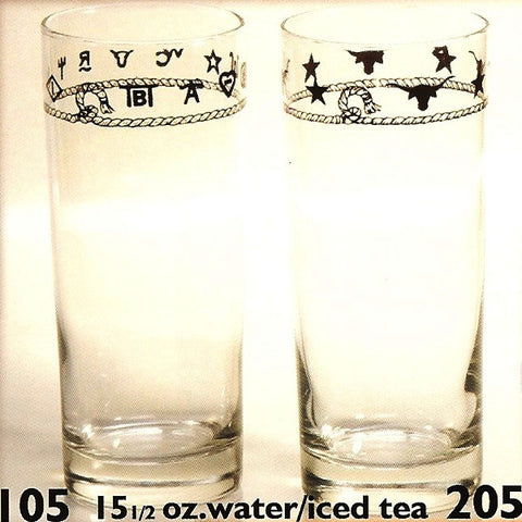 15-1/2 OZ. Water/Ice Tea Glasses - Set of 4