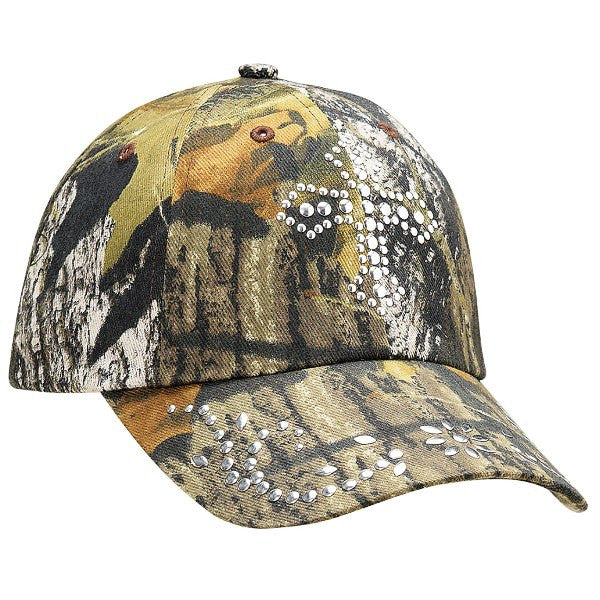 Ladies' Cross & Camo Cap