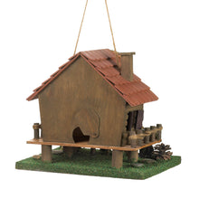 Load image into Gallery viewer, Woodland Cabin Birdhouse