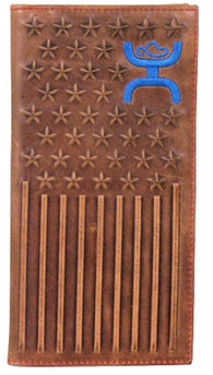 Hooey Signature Rodeo Wallet with Stars & Stripes