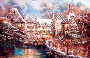 """Christmas Cove"" 1000 Pc  Jigsaw Puzzle"