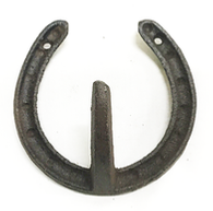 Cast Iron Horseshoe Coat Hook