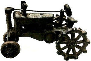 Cast Iron Model Tractor