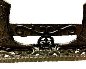 Cast Iron Texas Boot Scraper