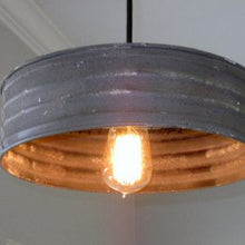 Load image into Gallery viewer, Sifter Grey Pendant Lamp - 12""