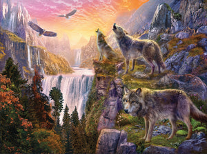 """Wolf Moon"" 1000 Pc  Jigsaw Puzzle"