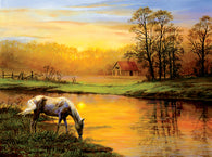 """Pastoral Moment"" 1000 Pc  Jigsaw Puzzle"