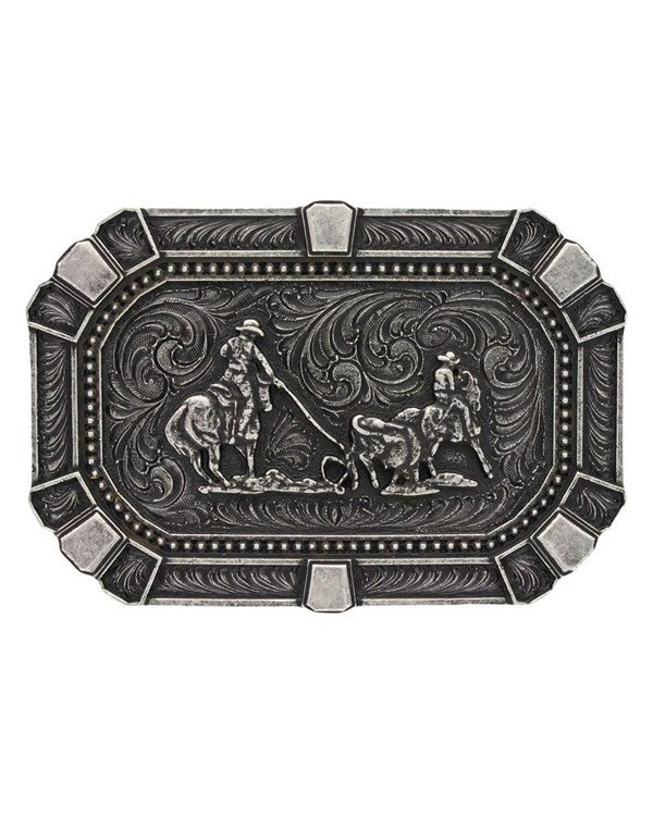 Team Roper Classic Belt Buckle