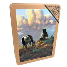"Load image into Gallery viewer, ""Dreamers Hour"" Jigsaw Puzzle with Tin Box"