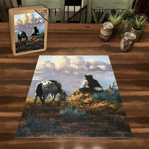 """Dreamers Hour"" Jigsaw Puzzle with Tin Box"