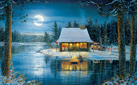 """Reflections on the Lake""  550 Pc  Jigsaw Puzzle"