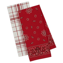 Load image into Gallery viewer, Bandana 2-Piece Dish Towel Set