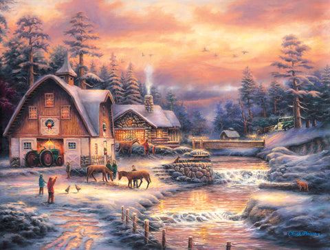 """Country Holidays""  500 Pc  Jigsaw Puzzle"