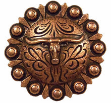 Load image into Gallery viewer, Steer Berry Concho Cabinet Pull